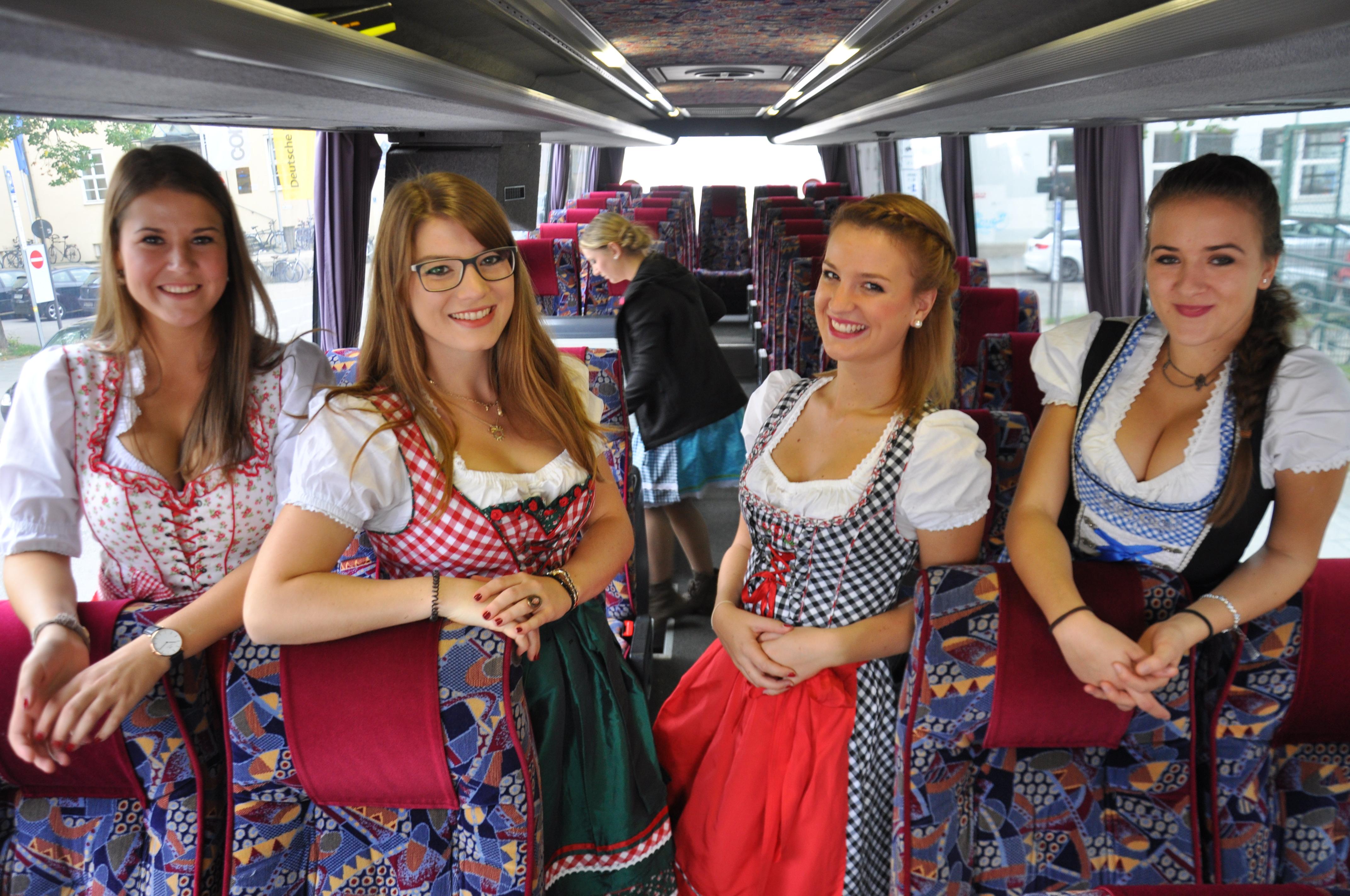 Car ans Oktoberfest München / Cannstatterfest Stuttgart