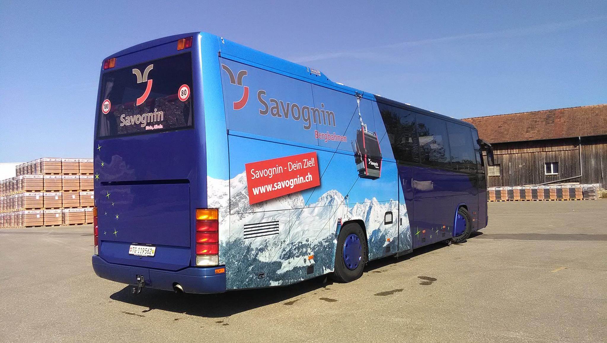 Skiexpress Savognin by Car